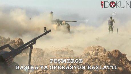 DEAŞ (IŞİD) kontrolündeki Başika'ya operasyon