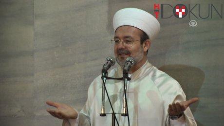 Diyanet İşleri Başkanı Mehmet Görmez'in konuşması