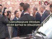 Erdoğan ilahiyatçı Enver Baytan'ın cenazesine katıldı