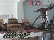 Çukurca'da PKK'dan geriye kalanlar