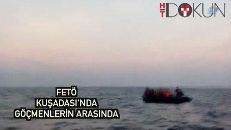 Göçmenlerle kaçmaya çalışan FETÖ üyeleri yakalandı