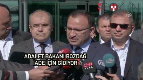 Bekir Bozdağ Gülen'in iadesi için ABD'ye gidiyor