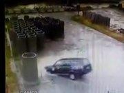 Rize'de ilginç kaza