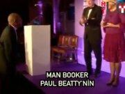 Man Booker ödülü Paul Beatty'nin