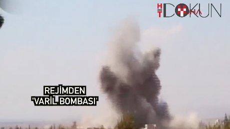 Rejim güçleri'nden ÖSO'ya varil bombası!