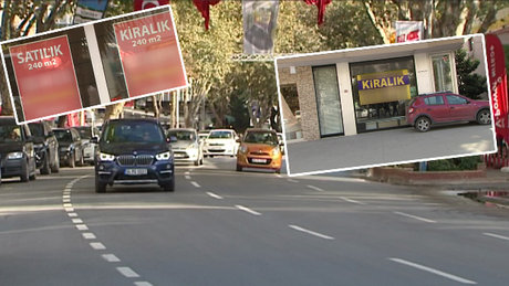 Bağdat Caddesi'nde dükkanlar bir bir kapanıyor