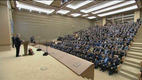 Erdoğan: Münbiç'i PYD'den temizlemeye kararlıyız