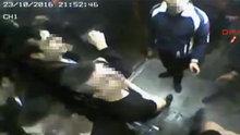 YHT üst geçidindeki engelliler asansörünü böyle parçaladılar
