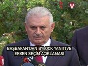 """Başbakan'dan 'Bylock' iddiasına yanıt: """"Varsa belgelerini versin"""""""