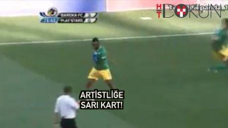 Artistliğe sarı kart!