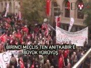 Kılıçdaroğlu, Büyük Cumhuriyet Yürüyüşü'ne katıldı
