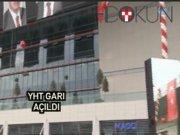 Ankara YHT Garı açıldı
