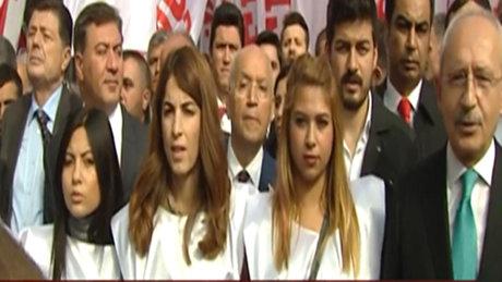 CHP'den 'Cumhuriyet' yürüyüşü
