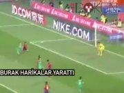 Burak Yılmaz Çin'de 2 gol birden attı