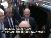 Kılıçdaroğlu'ndan Cumhuriyet Ankara bürosuna ziyaret