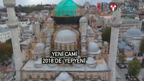 353 yıllık Yeni Cami'de en kapsamlı restorasyon