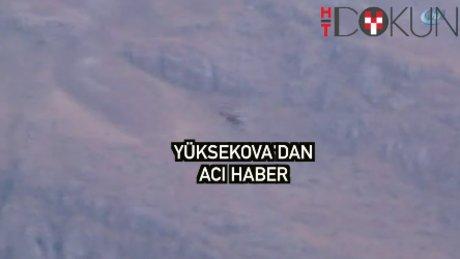 Yüksekova'da çatışma: 3 şehit