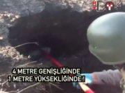 Diyarbakır Çınar'da 4 metrelik EYP tüneli!