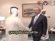 Katar Başbakanı Al Sani, Dışişleri Bakanı Çavuşoğlu'nu kabul etti