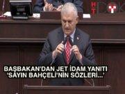 """Başbakan Yıldırım:""""Sayın Bahçeli'nin düşüncesini dikkate alacağız"""""""