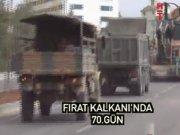 Fırat Kalkanı'nda 70. gün:  ÖSO DEAŞ direnişiyle karşılaştı