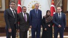 Cumhurbaşkanı Erdoğan, 15 Temmuz gazisini kabul etti