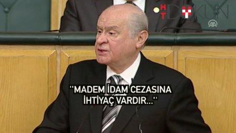 """Bahçeli'deni idam çıkışı: """"AKP hazırsa MHP dünden vardır"""""""