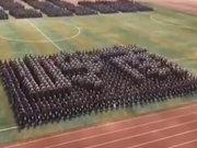 Askerlerin müthiş koreografisi