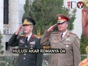 Hulusi Akar'dan Romanya'daki Türk şehitliğine ziyaret