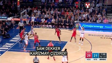 Sam Dekker karizmayı çizdirdi