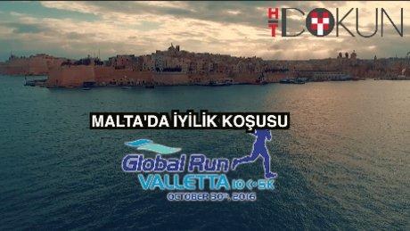 Malta'da iyilik koşusu