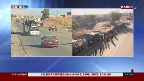 Irak Ordusu Musul'a girdi!