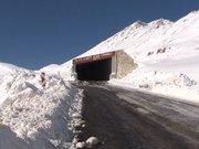 Türkiye'nin ilk prefabrik kar tüneli