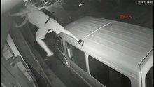 İş yerinden hırsızlık güvenlik kamerasında