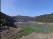 Alibeyköy barajının havadan görüntüsü