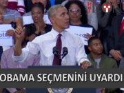 Obama seçmenini fırçaladı