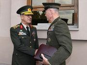 ABD Genel Kurmay Başkanı ve Hulusi Akar'ın görüşmesinden görüntüler