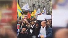 PKK sempatizanları 2 Türk vatandaşını darbetti