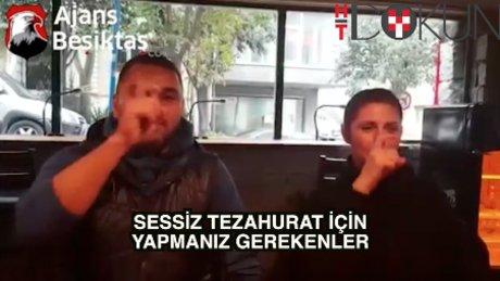 Beşiktaş'tan sessiz tezahurat kılavuzu