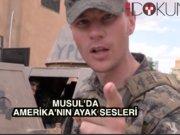 Amerikan askerleri Rakka civarında