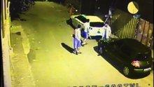 Suçüstü yakalanan hırsızlara meydan dayağı
