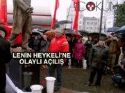 Belarus'a Lenin heykeli dikildi