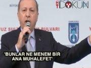 """Cumhurbaşkanı Erdoğan """"Bunlar ne menem bir ana muhalefet"""""""