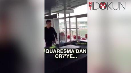 Quaresma'dan Ronaldo'ya eşek şakası