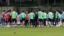 A Milli Takım, Kosava maçı hazırlıklarını sürdürdü