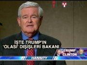 Trump'ın dışişleri adayı: Newt Gingrich