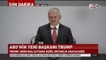 Binali Yıldırım'dan Trump'a FETÖ elebaşının iadesi için çağrı