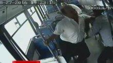 Otobüs şoförüne öldüresiye dayak kamerada