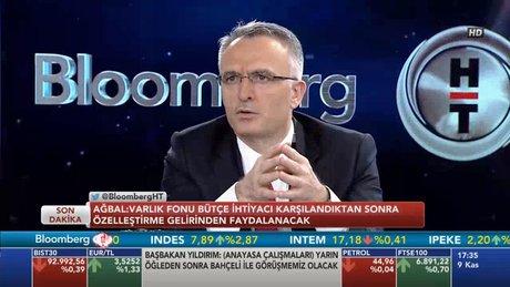 Naci Ağbal, Bloomberg HT'de