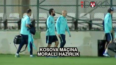 Milli takım Antalya'da kampa girdi